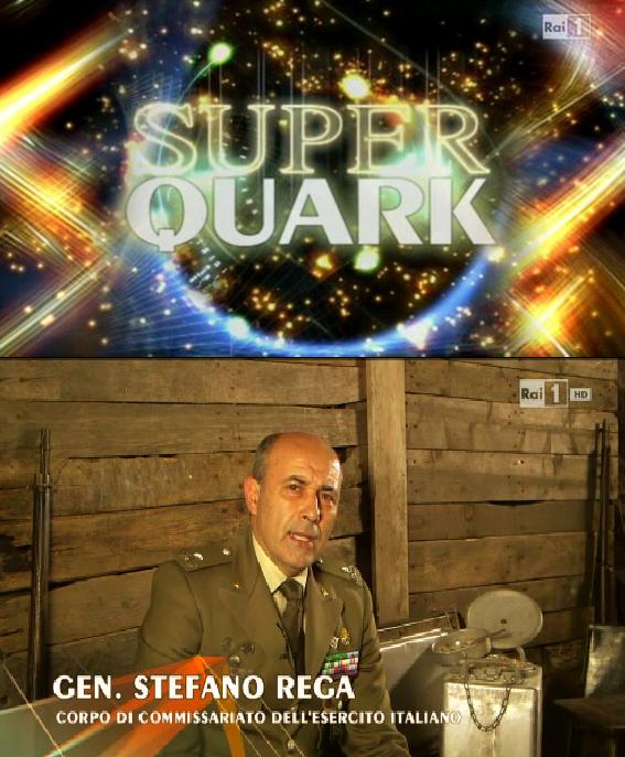 Intervista al Gen. Stefano REGA su SuperQuark
