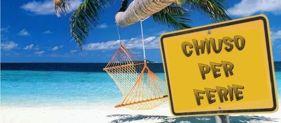 Buone vacanze a tutti i soci e simpatizzanti